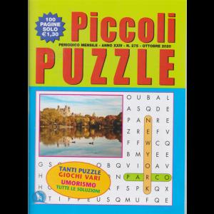Piccoli Puzzle - n. 275 - mensile - ottobre 2020 - 100 pagine