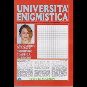 Università enigmistica - n. 117 - bimestrale - ottobre - novembre 2020