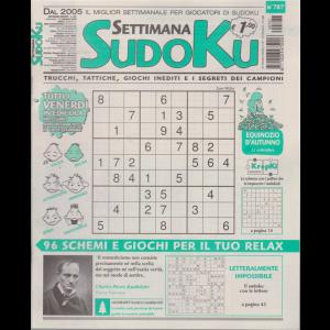 Settimana Sudoku - n. 787 - settimanale - 11 settembre 2020 -