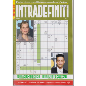 Interdefiniti - n. 18 - bimestrale - ottobre - novembre 2020 - 100 pagine - 100 giochi
