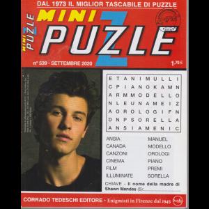 Minipuzzle - n. 539 - settembre 2020 - mensile