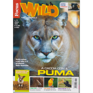 Focus Wild - n. 111 - ottobre 2020 - Doppio poster in regalo