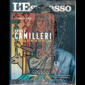 L'espresso settimanale n. 37 - 6/09/202 + Le storie di Vigatà vol. 11