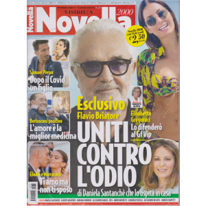 Novella 2000 + Visto - n. 38 - settimanale - 10 settembre 2020 - 2 riviste