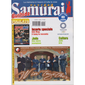 Samurai Bushido Pugilato - n. 9 - settembre 2020 - 80 pagine