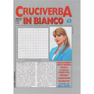 Cruciverba In Bianco - n. 120 - bimestrale - ottobre - novembre 2020