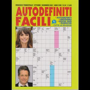 Autodefiniti Facili - n. 84 - trimestrale - ottobre - dicembre 2020 -