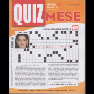 Domenica Quiz Mese - n. 9 - settembre 2020 - mensile