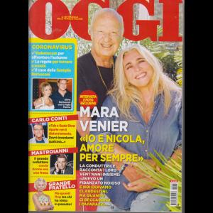 Oggi - Mara Venier - n. 37 - 17/9/2020 -settimanale