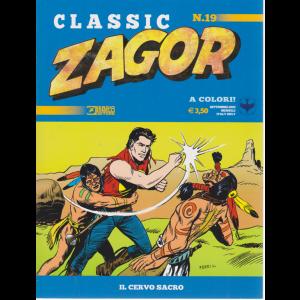 Zagor Classic - Il Cervo Sacro - n. 19 - settembre 2020 - mensile