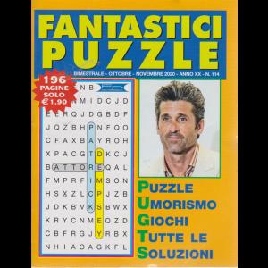 Fantastici Puzzle - n. 114 - bimestrale - ottobre - novembre 2020 - 196 pagine