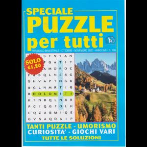 Speciale Puzzle per tutti - n. 100 - bimestrale - ottobre - novembre 2020 -