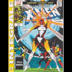 Marvel Integrale - Gli incredibili X-men - n. 21 - Stella binaria - mensile - 10 settembre 2020 -