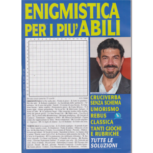 Enigmistica  per i più abili - n. 229 - bimestrale - ottobre - novembre 2020 -