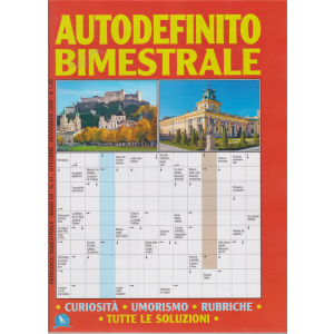 Autodefinito Bimestrale - n. 41 - bimestrale- ottobre - novembre 2020
