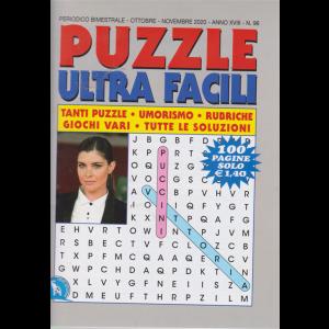 Puzzle  Ultra  Facili - n. 96 - bimestrale - ottobre - novembre 2020 - 100 pagine