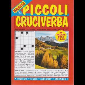 Piccoli Cruciverba facili - n. 141 - bimestrale - ottobre - novembre 2020 - 68 pagine