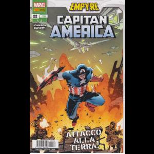 Capitan America - Attacco alla terra - n. 126 - mensile - 10 settembre 2020