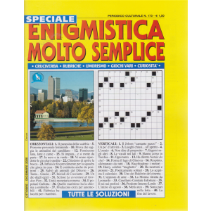 Speciale Enigmistica molto semplice - n. 173 - ottobre - dicembre 2020