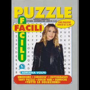 Puzzle Facili Facili -Adriana Volpe -  n. 40 - ottobre - novembre 2020 - 196 pagine -