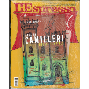 L'espresso - settimanale n. 38 - 1/09/20 + Le Storie di Vigatà vol. 14