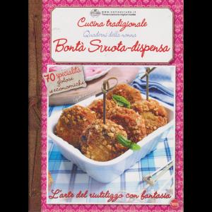 Cucina Tradizionale - Quaderni della nonna - Bontà Svuota - dispensa - n. 76 - bimestrale - ottobre - novembre 2020 -