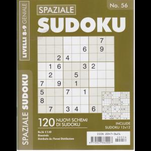 Spaziale Sudoku - n. 56 - bimestrale - livelli 8-9 geniale