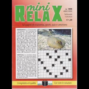 Mini Relax - n. 1999 - settimanale - 15/9/2020 -