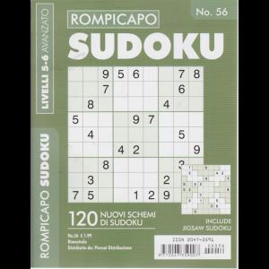 Rompicapo Sudoku - n. 56 - bimestrale - livelli 5-6 avanzato