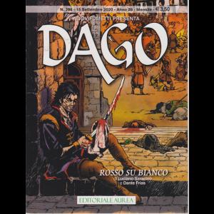 Nuovifumetti  presenta Dago - n. 286 - Rosso su bianco - 15 settembre 2020 - mensile