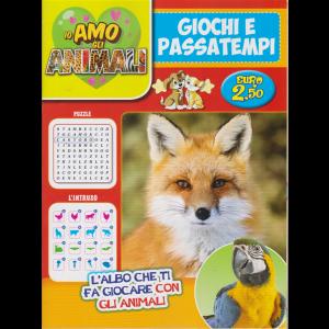 Io amo gli animali - Giochi e Passatempi - n. 4 - bimestrale - ottobre - novembre 2020 -