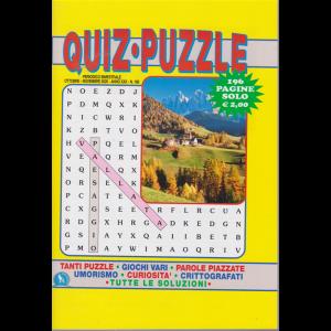 Quiz  Puzzle - n. 168 - bimestrale - ottobre - novembre 2020 - 196 pagine