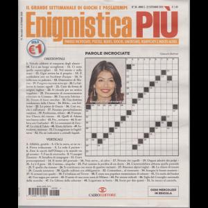 Enigmistica Piu' - n. 38 - 22 settembre 2020 - settimanale