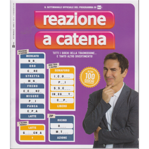 Reazione a Catena - n. 11 - 17/9/2020 - settimanale