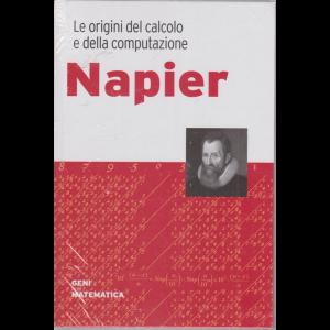 Geni della matematica - Napier - n. 32 - settimanale - 17/9/2020 - copertina rigida