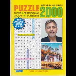 Puzzle 2000 - n. 354 - mensile - ottobre 2020 - 100 pagine