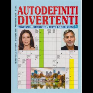 Autodefiniti  divertenti - n. 80 - trimestrale - ottobre - dicembre 2020