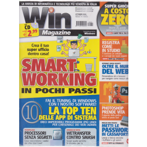 Win Magazine - + cd - n. 270 - mensile - 18/9/2020