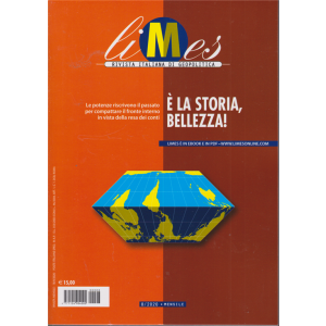 Limes - n. 8/2020 - E' la storia , bellezza! - mensile - 18/9/2020