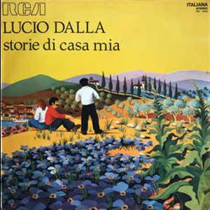 LP Lucio Dalla:  Storie di casa mia by RCA