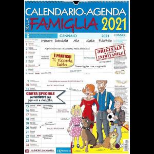 Calendario-Agenda della famiglia 2021 - cm. 30x43 con spirale