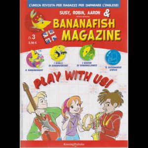 Bananafish magazine - n. 3 - trimestrale - 17 settembre 2020 -