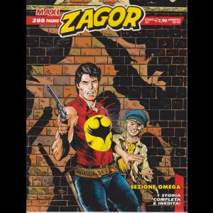 Zagor Maxi - Sezione Omega - n. 40 - settembre 2020 - quadrimestrale - 288 pagine