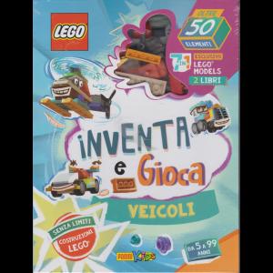 Lego Word - Inventa e gioca - Veicoli - n. 4 - bimestrale - 10 settembre 2020 -