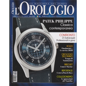 L'orologio - n. 288 - mensile - settembre 2020 -