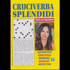 Cruciverba Splendidi - n. 39 - mensile - ottobre 2020
