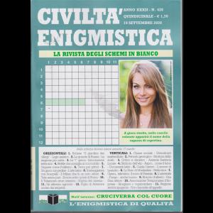 Civilta' Enigmistica - n. 428 - quindicinale - 19 settembre 2020 -