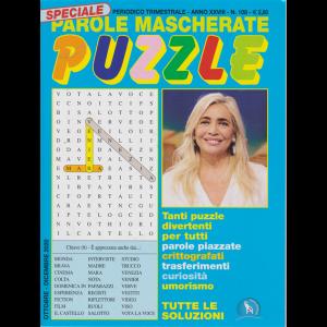 Speciale Parole Mascherate puzzle - n. 108 - trimestrale - ottobre - dicembre 2020