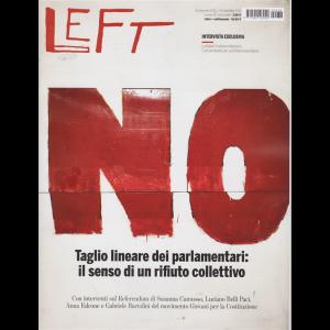 Left Avvenimenti - n. 38 - 18 settembre 2020 - 24 settembre 2020 - settimanale