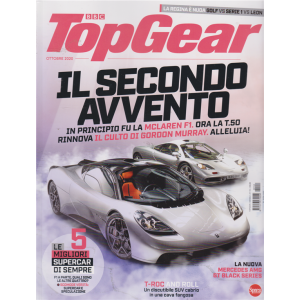 Bbc Top Gear - n. 154 - mensile - ottobre 2020